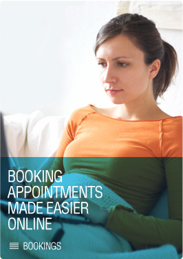 Booking appointments made easier online - click to book
